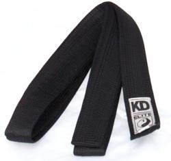 KD Elite Satin Black Belt